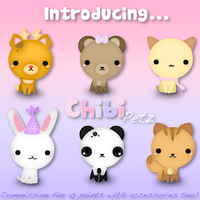 Chibi Petz Commission by suzzie456
