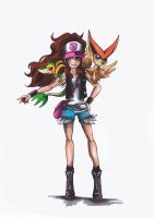 Trainer White -colour- by CaptainDisa