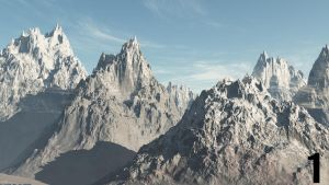 Vue Snow Moutain by Ahmed7193