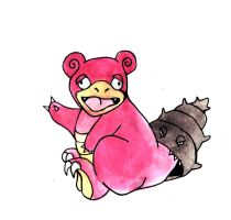 Slowbro by Hunchdebunch