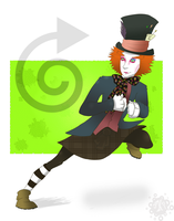 Mad Hatter by Iddle-Diddle