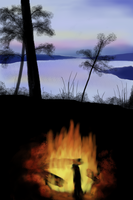 SunsetCampfire by naca0012