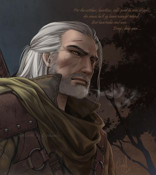 The Witcher by Orpheelin