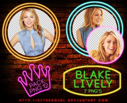 Blake Lively - PACK PNG 12 by Kiteengirl