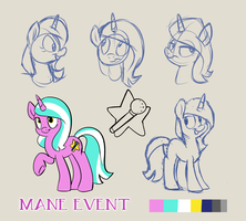 Bronycon Mascot Entry - Mane Event by sophiecabra