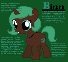 Binn, Daughter of Clockwork Clover by ZumbaZyn