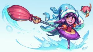 Pool Party Lulu - League of Legends (with video!) by Knockwurst