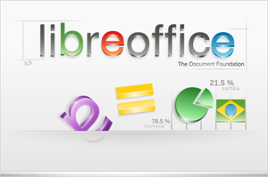 Libre Office Splash by mdh3ll