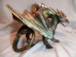 ooak dragon by AmandaKathryn