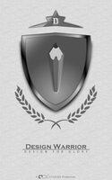 Design Warrior Logotype by qdstudios