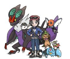 Pokemon Team X Y by sicklequill8384