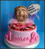 Brian Blessed head cake. by 0970jackie