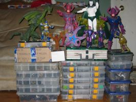 My Heroclix collection by LotusOfTheLeaf