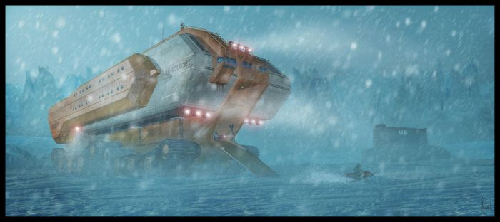 Expedition in the eternal ice by ChristianBT
