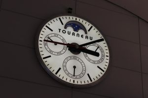 Clock at the Mall by TheBuggynater