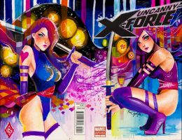 Commission: Psylocke by rianbowart