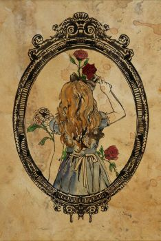 Painting the Roses red by Katie-Woodger