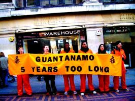guantanamo bay protest by khal88