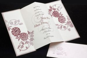 MY WEDDING INVITE INSIDE CARD by iqtsarah