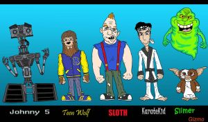 80's Lineup III by Lordwormm