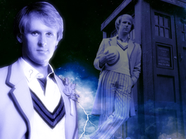 Fifth Doctor wallpaper by Leda74