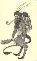 Krampus by LadyOrlandoArt