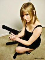 Cosplay Aya brea Parasite Eve by OriginalRikku