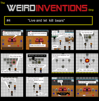 The Weird Inventions Strip 4 by Rthecreator