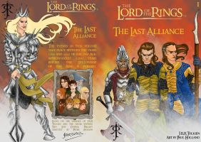 LOTR 1 - Last Alliance Cover by hollano