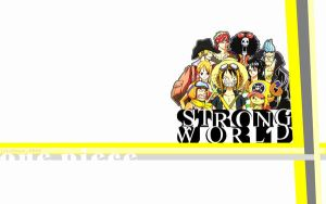 One Piece: Strong World by ailend