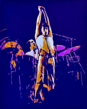 The Who at LA Forum 1973 by PzlWksMedia