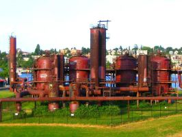 Gas Works Park by RaySark