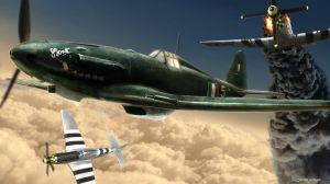 Wallpaper Fiat Aircrafts dogfight by Jacopo-Art