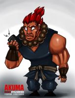 Akuma FanArt by FazaMeonk