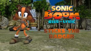 Sonic Boom - Sticks the Badger (read description!) by FatalitySonic2