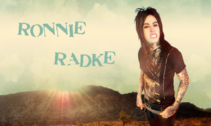 Ronnie Radke Desert wallpaper by avrilfan12341