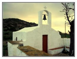 A small chapel - Nimo - Greece by gzacharioudakis