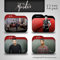 How to Get Away With Murder Folder Icon Pack by mrbrighside95