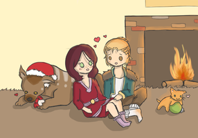 holidays at the hawke estate by Megami-Yaiba