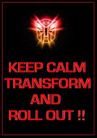 Transformers - Autobots 'Keep Calm' Poster by DoctorWhoOne