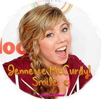 Jennette McCurdy Circle Png. by BaastySmiler