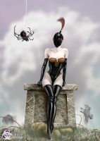 Brom's Little Miss Muffet by Biohaz-Daddy