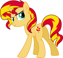 Pony Sunset Shimmer by Givralix