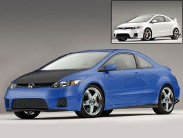 2006 Civic Deviant o1 by ddvs1