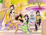 Commission: Helios, Sunna, Sonya, Akemi and Taiyou by starca