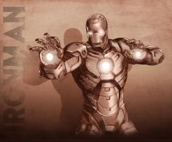 ironman by DXSinfinite