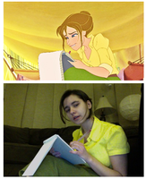 Jane Porter Cosplay by NikiMuffin