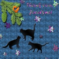 Thank you, Jocelyne by DanaAnderson