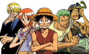 Straw hat pirates by Sunny-berry
