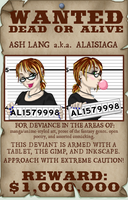 Wanted Poster ID by alaisiaga